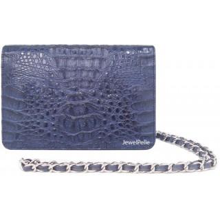 HB0099 crocodile bags navy blue