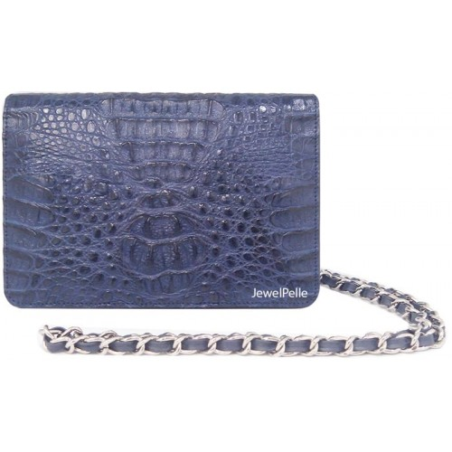 HB0099 crocodile bags navy blue