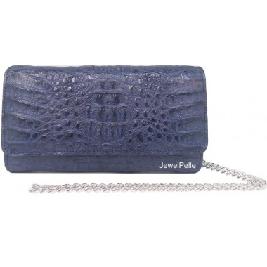 HB0168 crocodile bags navy blue