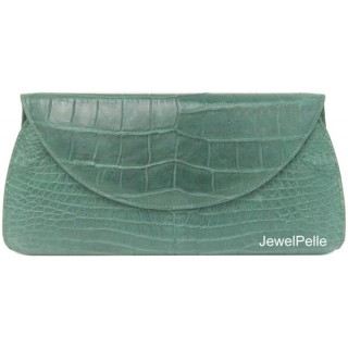 HB0225 belly crocodile bag green
