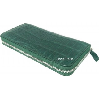 HB0367 belly crocodile lady wallet