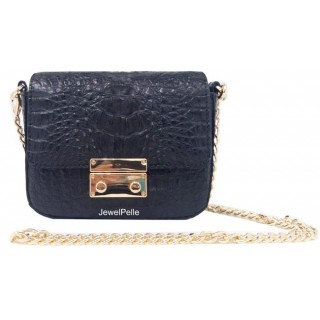HB0482 crocodile bag black