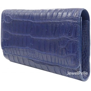 Belly crocodile hand bag HB0168 navy