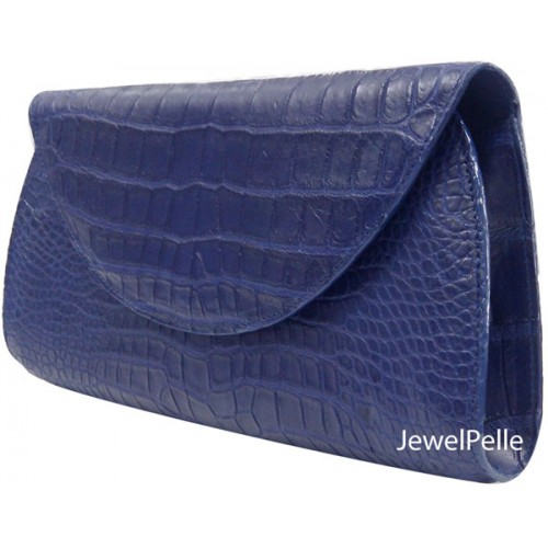 Belly crocodile hand bag HB0222 navy