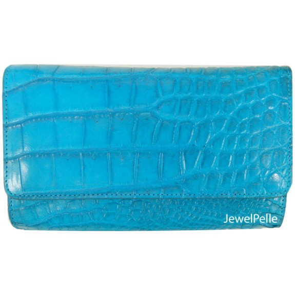 Belly crocodile bag HB0168 turquoise