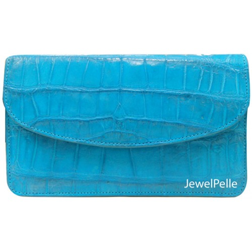 Belly crocodile bag HB0224 turquoise