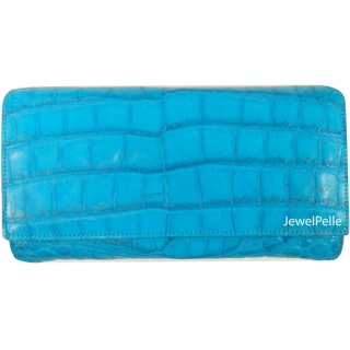 Belly crocodile bag HB0323 turquoise