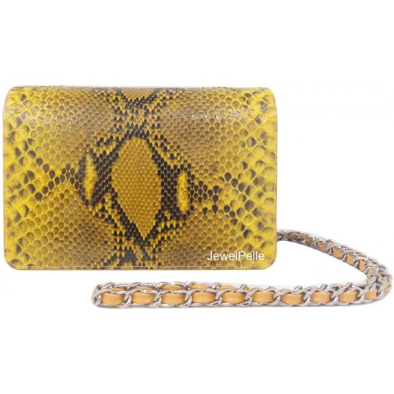 HB0099 python bag yellow