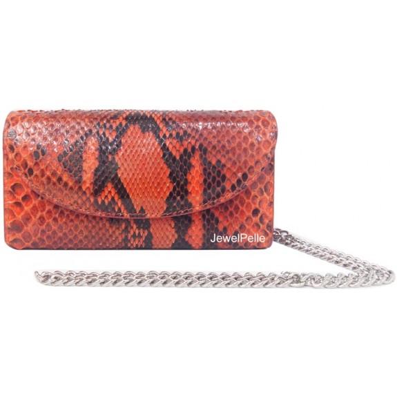HB0167 snake clutch orange
