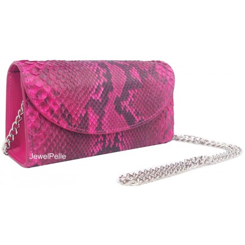 HB0167 python bag pink