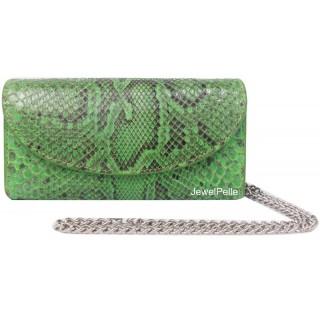 HB0167 snake bag spring green