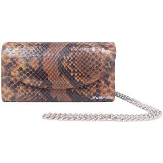 HB0167 python bag tan