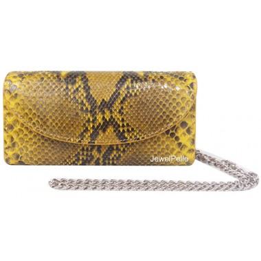 HB0167 python bag yellow