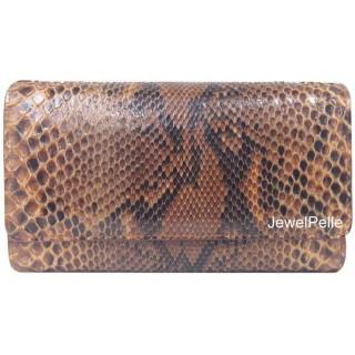 HB0168 python bag tan