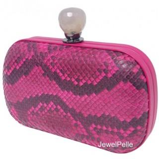 HB0181 python clutch pink