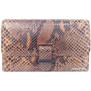HB0217 python bag tan