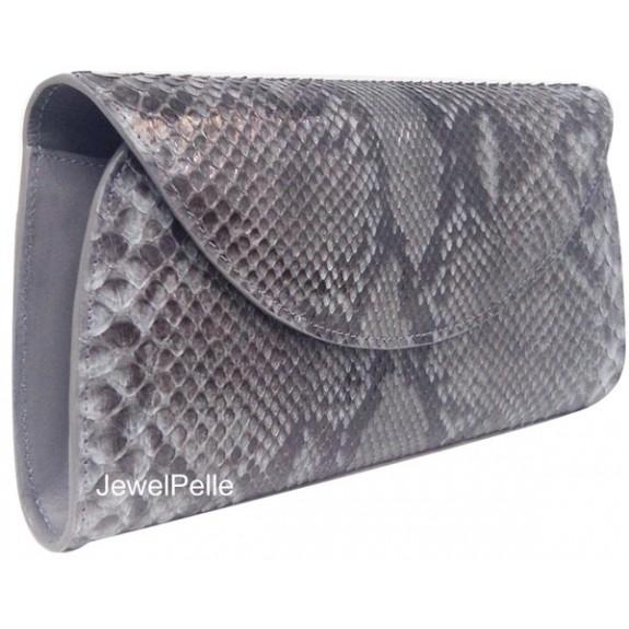 Grey python hand bag HB0225