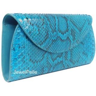 Python hand bag HB0225 ocean