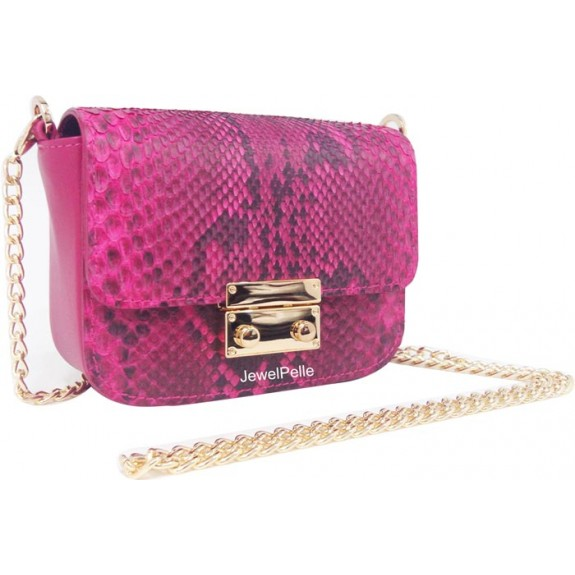 HB0482 python hand bags pink