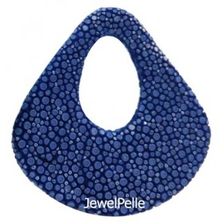 BE0016 stingray bead royal blue