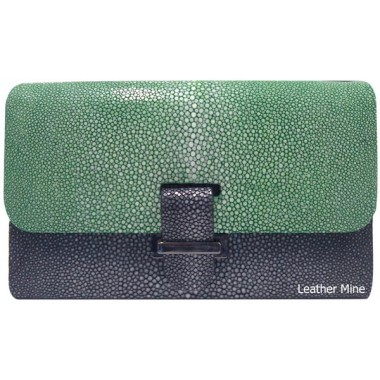Stingray hand bag jade HB0217