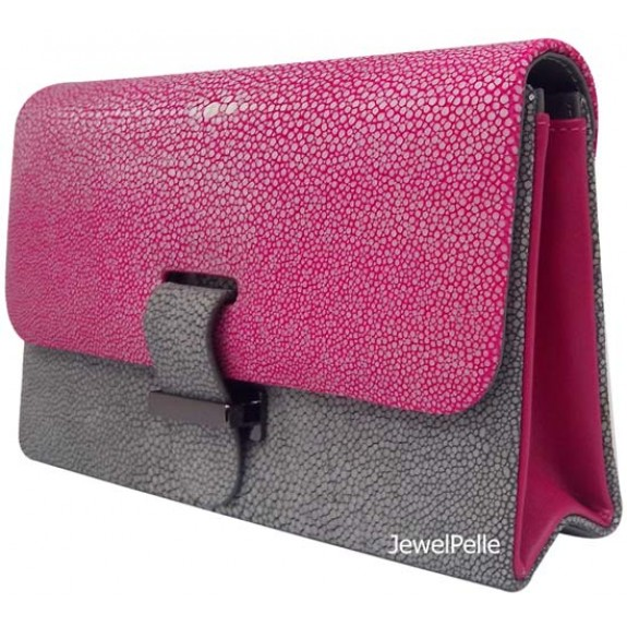 HB0217 stingray bag hot pink