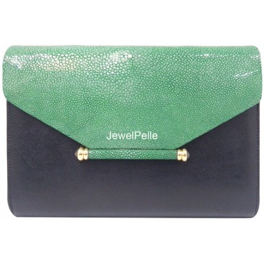 Stingray hand bag jade HB0424