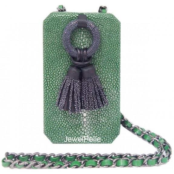 Stingray hand bag jade HB0428