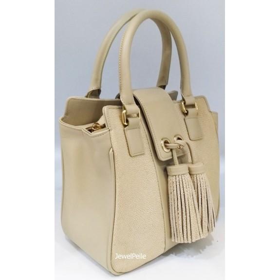 HB0569 stingray lady bag white coffee