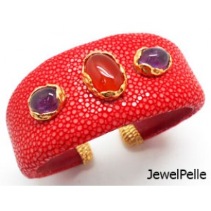 Stingray cuff BA0588 chili red