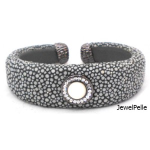 Stingray bangle BA0616 grey