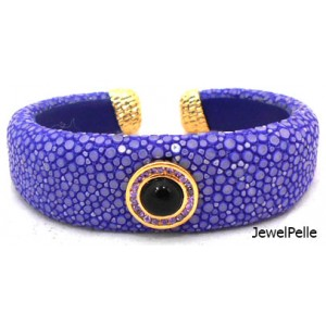 Stingray bangle BA0616 lapis
