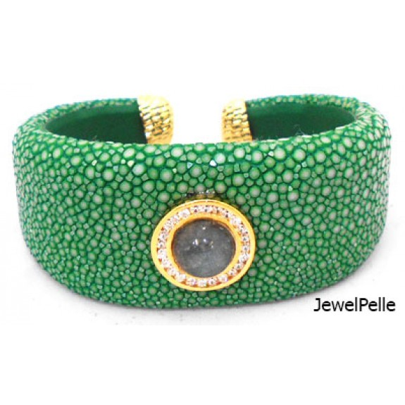 Stingray bangle BA0617 jade