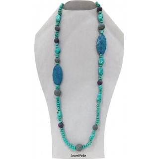 Stingray necklace NE0534 turquoise