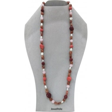 Stingray necklace NE0535 indian red